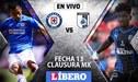 Cruz Azul vs Querétaro EN VIVO: partidazo con Yoshimar Yotún de titular por la fecha 13 del Clausura de la Liga MX