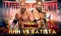 Triple H vs Batista por WrestleMania 35: Lucha de leyendas de la WWE en Nueva Jersey | Guía de canales TV