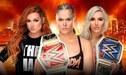 WWE Wrestlemania 35: Ronda Rousey vs Becky Lynch vs Charlotte por los Campeonatos de Raw y SmackDown