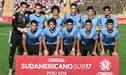 Sudamericano Sub 17: jugadores uruguayos rompieron en llanto tras quedar eliminados en el último minuto de juego [VIDEO]