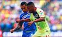 Cruz Azul, con Yoshimar Yotún, empató con América en el 'Clásico Joven' de la Liga MX [RESUMEN]