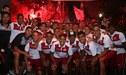 El tremendo banderazo de los hinchas de Universitario a pocas horas del Clásico ante Alianza [VIDEO]