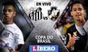 Santos vs Vasco da Gama EN VIVO: partido por la Copa do Brasil