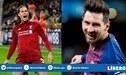 """Virgil Van Dijk sobre su duelo ante Lionel Messi por la Champions: """"No tengo idea de cómo pararlo"""""""