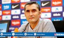 Ernesto Valverde podría dejar el FC Barcelona si no campeona en la Champions League