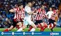 Real Madrid vs Athletic Bilbao EN VIVO: dónde y cómo ver duelo por Liga Santander