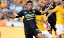 """Tigres vs Morelia EN VIVO: Edison Flores definió como """"9"""" y anotó el 1-3 [VIDEO]"""