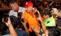 Paolo Guerrero y el espectacular recibimiento de la afición en el aeropuerto [VIDEO]