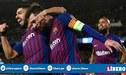 ¿Qué resultados necesita Barcelona para coronarse campeón de la Liga Española?