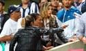 Alondra García Miró se lució con Doña Peta en el Nacional viendo a Paolo Guerrero [FOTOS]