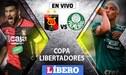 Melgar vs Palmeiras EN VIVO: Partido crucial por clasificación a octavos de la Copa Libertadores