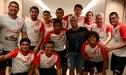 Selección Peruana: Miguel Trauco visitó a la equipo de fútbol playa en Brasil