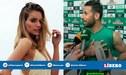 Modelo alemana hincha del Borussia sufrió con golazo de Claudio Pizarro [FOTO Y VIDEO]