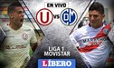 Universitario vs Municipal EN VIVO: 'cremas' ganan 1-0 en la Liga 1 Movistar