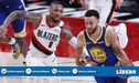 [EN VIVO] Warriors 65-69 Blazers por el Game 4 de finales de Conferencia de la NBA