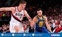[EN VIVO] Warriors 119-117 Blazers por el Game 4 de finales de Conferencia de la NBA