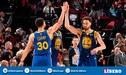 Warriors campeón de la Conferencia Oeste tras vencer 119-117 a Trail Blazers [VIDEO]