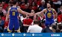 Warriors venció 119-117 a Blazers en el Game 4 y jugará la gran final de la NBA