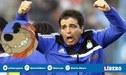 La peculiar celebración de Claudio Vivas en el tercer gol de Sporting Cristal  [VíDEO]