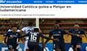 Así reaccionaron los medios ecuatorianos tras el escandaloso resultado que sufrió Melgar en la Sudamericana [FOTOS]