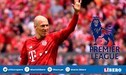 Arjen Robben seguiría su carrera en la Premier League