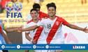 ¡Gran noticia! FIFA aceptó la candidatura de Perú para organizar el Mundial Sub 20 del 2021