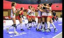 Perú campeón tras ganar 3-0 a Puerto Rico en la final de la Copa Panamericana de Voleibol Sub 18