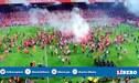 ¡Locura en Alemania! Hinchas del Unión Berlín invadieron el campo para celebrar ascenso a la Bundesliga [VIDEO]