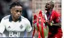 Yordy Reyna felicita a Sadio Mané por el título del Liverpool en la Champions League