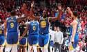 Los Warriors se levantan y ganan 109-104 a Raptors en el Juego 2 de NBA Playoffs [VIDEO]