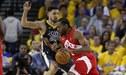 State Warriors cayó 105-92 ante los Raptors por el juego 4 de los playoffs de la NBA | RESUMEN
