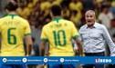Tite y la insólita comparación que hizo de Neymar con Hazard