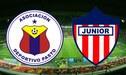 Pasto vs Junior vía RCN [EN VIVO] Gol de Ray Vanegas, 1-0 en El Campín