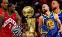ESPN [LIVE STREAM] Warriors vs Raptors, 57-60 tercer cuarto NBA Finals