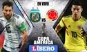 Argentina vs. Colombia EN VIVO: chocan por la fecha 1 del grupo B de la Copa América 2019