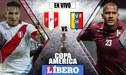 Perú vs Venezuela [EN VIVO] América TV GO por debut en la Copa América 2019