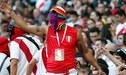 Perú vs Venezuela [FOTOS] Así se vive la fiesta de la hinchada 'Bicolor' en las tribunas del Arena do Gremio