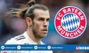 Gareth Bale dejaría el Real Madrid por oferta del Bayern Múnich