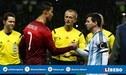 Cristiano Ronaldo destroza a Lionel Messi en goles con su selección