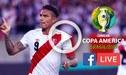 Perú vs Bolivia [ONLINE] Ver aquí América TV Go [EN VIVO] Apuestas y pronósticos por Copa América [HORA-CANAL]