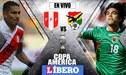 Perú vs. Bolivia EN VIVO vía DirecTV y América TV: por la Copa América 2019 | Equipos empatan 0-0