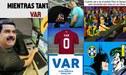 El VAR principal protagonista de los memes del empate entre Brasil y Venezuela [IMÁGENES]