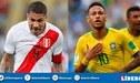 FPF confirmó amistoso de Perú ante Brasil a jugarse en Los Ángeles