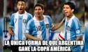 Argentina vs Paraguay: Los mejores memes tras el empate 1-1 de la albiceleste en la Copa América [FOTOS]