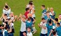 """Con goles del """"Kun"""" Agüero y Lautaro Martínez, Argentina venció 2-0 a Qatar y clasificó a cuartos de la Copa América 2019 [VIDEO]"""