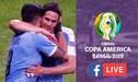 Uruguay 0-0 Chile [EN VIVO ONLINE] vía América TV y DirecTV por la Copa América 2019