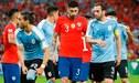 Chile vs Uruguay [EN VIVO] Vía América TV y DirecTV Empatan 0-0