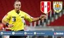 Árbitro brasileño Wilton Sampaio dirigirá el Perú vs Uruguay en Cuartos de Final de la Copa América