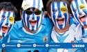 """Hinchas uruguayos le cantan chilenos """"El Pisco es peruano"""" [VIDEO]."""
