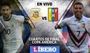 Argentina vs Venezuela EN VIVO: por los cuartos de final de la Copa América vía América TV y DirecTV Sports